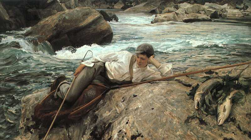 John Singer Sargent 'On His Holidays' 1902