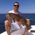 Brandon and a Gulf Grouper