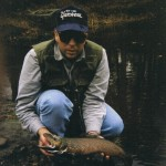 Chris with a Michigan U.P. Brown