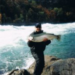 A Fat Niagara Falls Steelhead