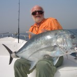 Giant Trevally in Tanzania for Tony