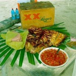 Holbox Mexico Cobia Grilled at the Beach