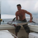 Hudson Canyon Yellowfin Tuna said Johny Aint' so Tuff