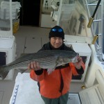 "Mark With ""The"" 2008 Closing Day Montauk Striper"