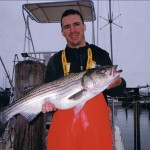 Montauk Striper for Brandon, after a Rouuugh Day