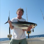 Stephen and Longfin Tuna Happiness