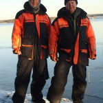 Winter Fishing with My Brother in Sweden