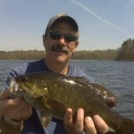 1st Amawalk Smallmouth of Glenn's 2009 Season