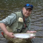 A Nice Early May Beaverkill River Rainbow