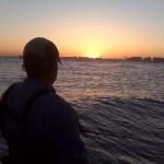Jamaica Bay Sunset Pluggin'