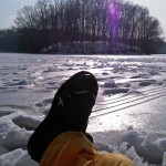 Ice fishing in New York can be RELAXING