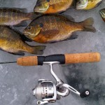 New York Bluegill Fishing on Ice